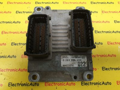 ECU Calculator motor Fiat, 0261206339, 00467778780