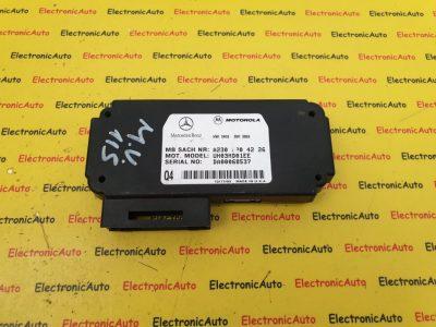 MOTOROLA Modul Telefon Mercedes CLK C-Klasse AMG, A2308204226