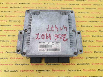 ECU Calculator Motor Peugeot 206 2.0HDdi, 9648588880, 0281011188, EDC15C2