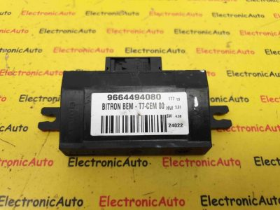 Releu Control Peugeot 308 CC 1.6, 9664494080, BITRON BEM-T7-CEM 00