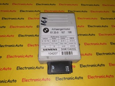 Calculator carlig remorcare Bmw 9167198, 5WK10420G