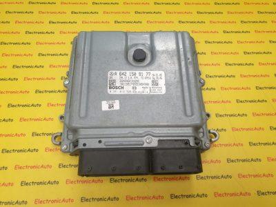ECU Calculator motor Mercedes E 3.0CDI A6421509177, 0281014328, CR4.12