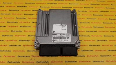 ECU Calculator motor BMW X3 2.0 d DDE7801216 0281013050