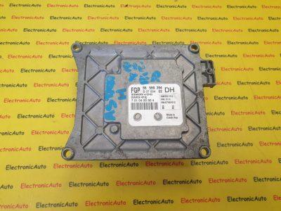 ECU Calculator motor Opel Astra H 1.6 55559394, Z16XER, 5WK9419
