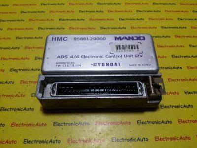 Calculator ABS Hyundai Coupe 9566129000, 6400070105