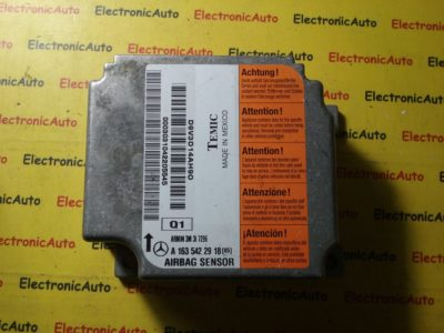 Calculator airbag Mercedes A1635422918, A 163 542 29 18