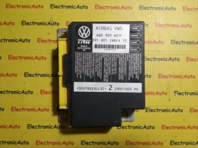 Calculator Airbag VW 6Q0909601F, 391 001, INDEX 10, 6Q0 909 601F