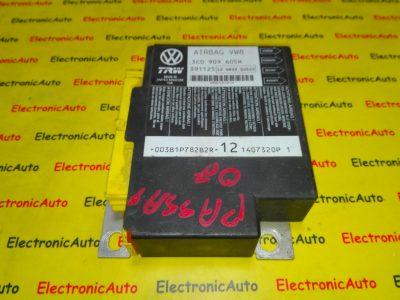 Calculator airbag VW, Audi 3C0909605M, 391125