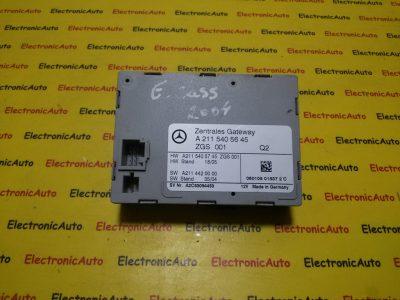 Calculator inchidere centralizata Mercedes Clasa E W211 A2115405645