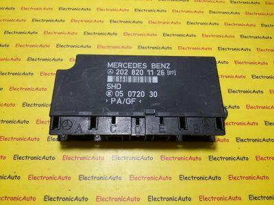 Calculator lumini Mercedes C-class W202 2028201126, 05072030