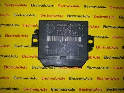 Calculator modul senzori parcare Skoda Octavia 2 1Z0919283B