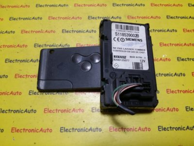 Citire Card Renault Scenic 2 1.5DCI S118539002B, 8200125077