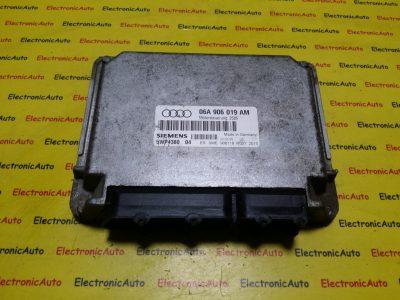 ECU Calculator motor Audi A3 1.6 06A906019AM, 5WP438004