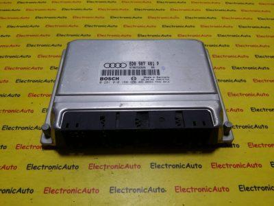 ECU Calculator motor Audi A4 2.5TDI 0281010158, 8D0907401P