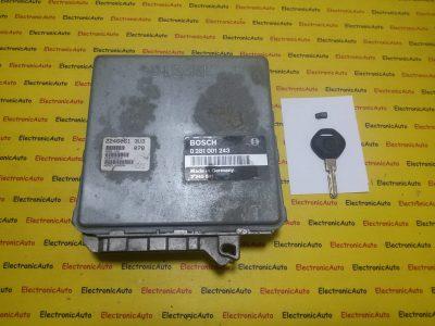 ECU Calculator motor Bmw 318TDS 0281001243 2245541 EDC1.3.1 E36