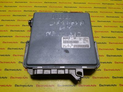 ECU Calculator motor Citroen 0281001589, 9628607180