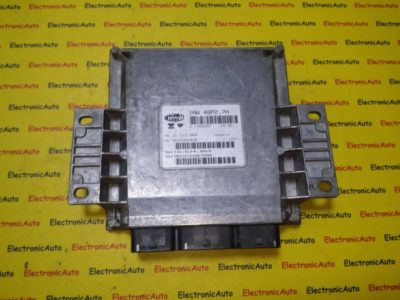 ECU Calculator motor Citroen C2 1.1 9655756780, IAW48P27H
