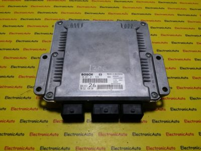 ECU Calculator motor Citroen C5 2.0HDI 0281011524, 9652183880