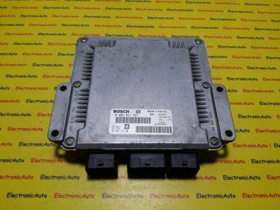 ECU Calculator motor Citroen Xsara Picasso 2.0HDI 0281011521, 9656314380
