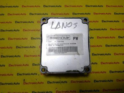 ECU Calculator motor Daewoo Lanos 12201599, 09388019, DLBY