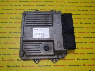 ECU Calculator motor Fiat Grande Punto 1.3JTD 71600.053.00, 55195817