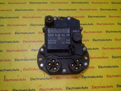 ECU Calculator motor Mercedes 0085459432