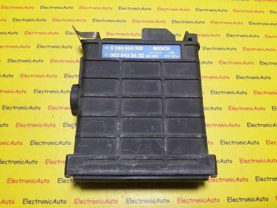 ECU Calculator motor Mercedes 190E 2.0 0025453632 0280800100