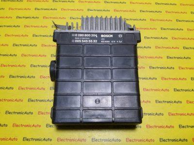 ECU Calculator motor Mercedes 190E 2.3 0055455532 0280800204
