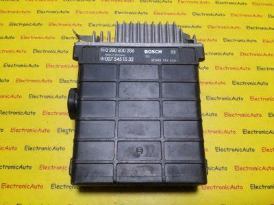 ECU Calculator motor Mercedes E320 0075451532 0280800286
