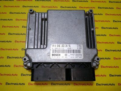 ECU Calculator motor Mercedes Vito 2.2CDI A6461532491, 0281012105, CR3.31