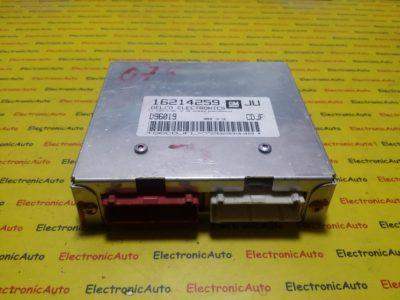 ECU Calculator motor Opel Astra F 1.6 16214259 JU CDJF