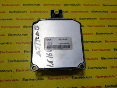 ECU Calculator motor Opel Astra F 1.6 16228919, X16XEL, CNJH