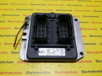 ECU Calculator motor Opel Astra G 2.0 90520859, 90 520 859