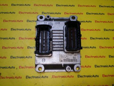 ECU Calculator motor Opel Corsa C 1.2 0261207962, Z12XE