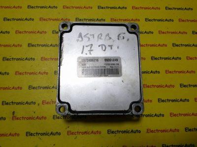 ECU Calculator motor Opel Meriva 1.7DTI 12227249, DYNW