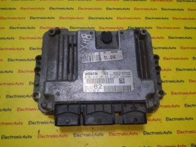 ECU Calculator motor Peugeot 206 1.4HDI 0281010707, 9651399080