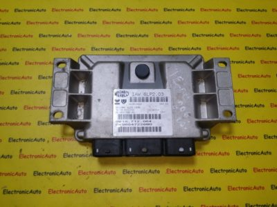 ECU Calculator motor Peugeot 206 1.4 9654722680 IAW 6LP2.03,