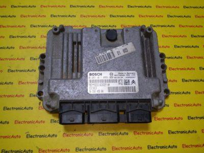 ECU Calculator motor Peugeot 206 1.4HDI 0281011089, 9653202580