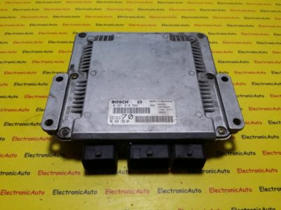 ECU Calculator motor Peugeot 206 2.0HDI 0281010594, 9642013980