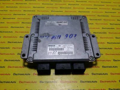 ECU Calculator motor Peugeot 206 2.0HDI 0281011525, 9651256880
