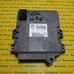 ECU Calculator motor Peugeot 206 9639907880, IAW1AP81