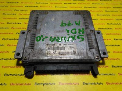 ECU Calculator motor Peugeot 306 2.0HDI 0281010162 ,9637089680  EDC15C2