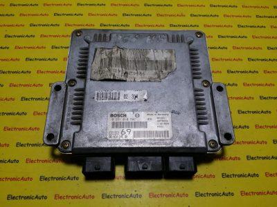 ECU Calculator motor Peugeot 306 2.0HDI 0281010592, 9642014880