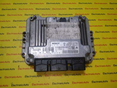 ECU Calculator motor Peugeot 307 1.6HDI 0281011634, 9660324180