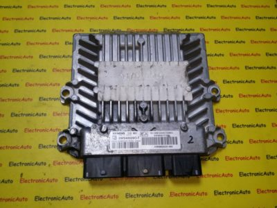 ECU Calculator motor Peugeot 307 2.0HDI 9656171080, 5WS40029O-T