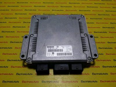ECU Calculator motor Peugeot 307 2.0HDI 0281011341, 9653873280