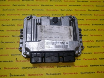 ECU Calculator motor Peugeot 308 1.6HDI 0281013872, 9664843780