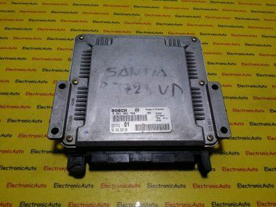 ECU Calculator motor Peugeot 406 2.0HDI 0281001782, 9634662880