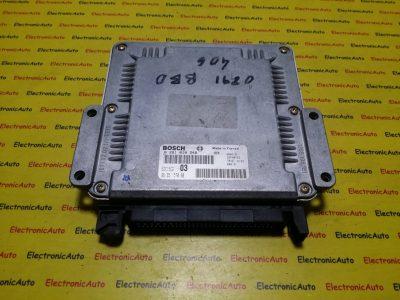ECU Calculator motor Peugeot 406 2.0HDI 0281010248, 9635157080