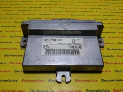 ECU Calculator motor Renault 19 1.4  HOM 7700861413, 7700865809